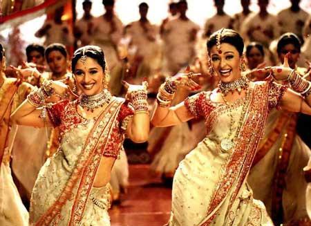 A matter of taste: Bollywood dancing.