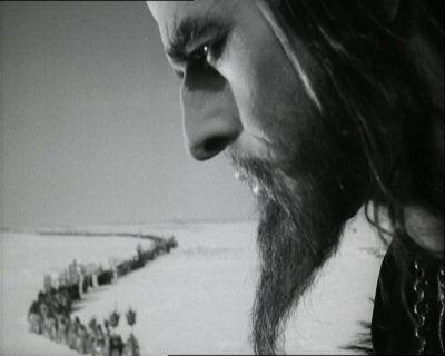Standbild aus dem Film Iwan der Schreckliche von Sergei Eisenstein, 1945-1958.
