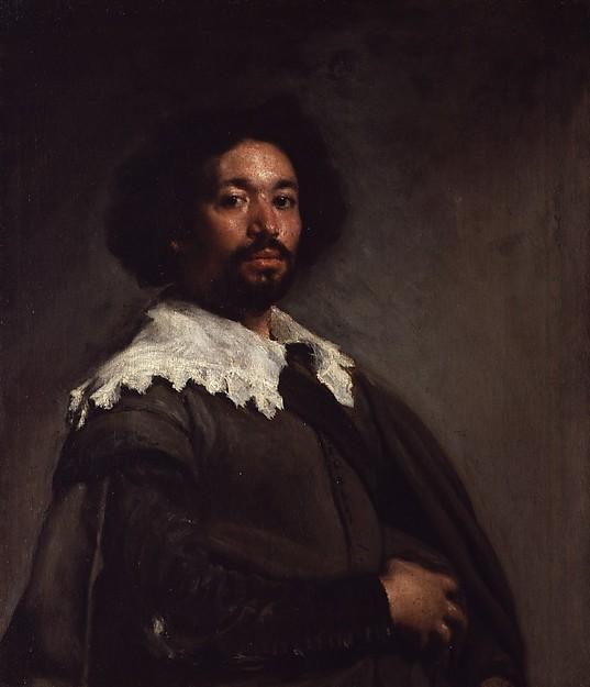Diego Velázquez, Juan de Pareja, 1650. Óleo sobre lienzo,  81.3 x 69.9 cm.  The Metropolitan Museum Of Art, Nueva York.