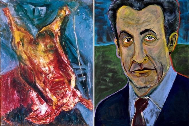 Nicolas Sarkozy + Soutine