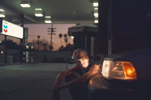 Philip-Lorca diCorcia, Keith Ryan, $30, 1990. Dye coupler print, 39.6 x 58.9 cm. Los Angeles County Museum of Art, Los Angeles.
