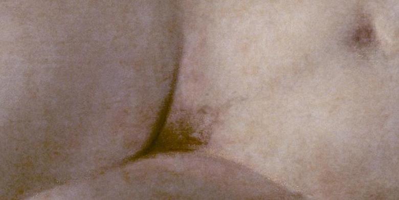 Der Ur-Ursprung der Welt: Francisco de Goya, Die nackte Maja, vor 1800. Öl auf Leinwand, 98 x 191 cm. Museo Nacional del Prado, Madrid.