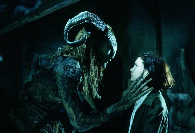 Ofelia y el fauno.