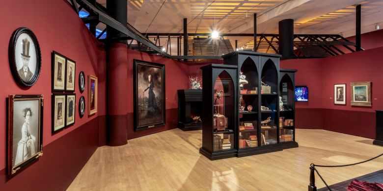 LACMA's Victoriana room.