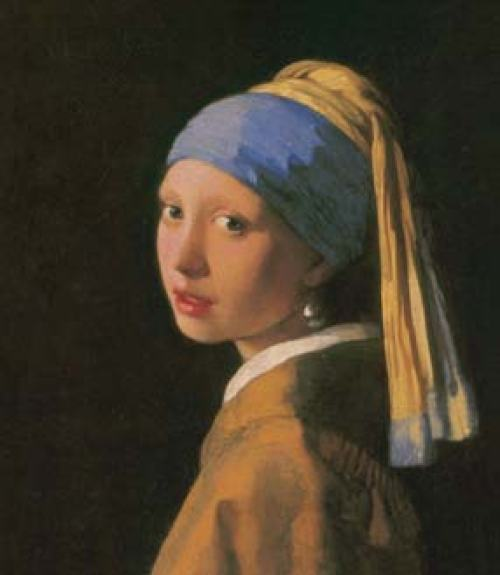 Portrait Girl with a Pearl Earring