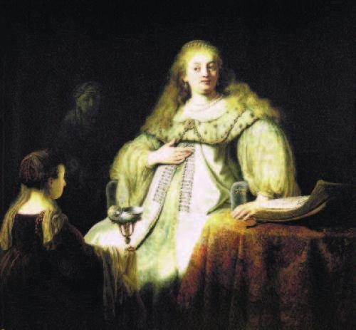 Judith beim Bankett des Holofernes