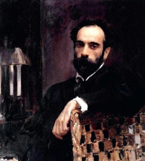 Portrait-of-Painter-Isaac-Levitan
