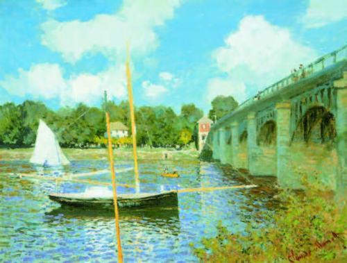 claude-monet-Road-Bridge-at-Argenteuil