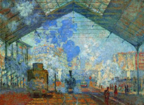 Claude-Monet-Saint-Lazare-Station