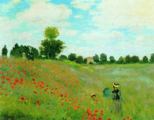 claude-monet-The-Poppy-Field-in-Argenteuil