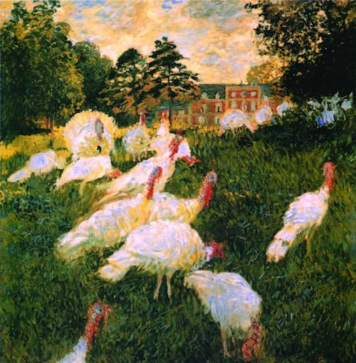 claude-monet-Turkeys-1876