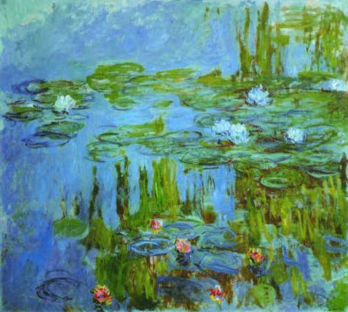 claude-monet-Water-Lilies-1915.