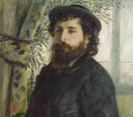 Portrait-of-Claude-Monet