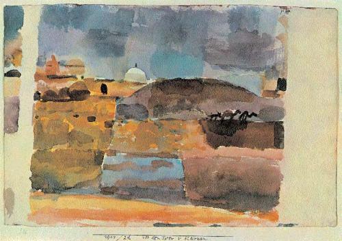 Paul-Klee-Aux-Portes-de-Kairouan