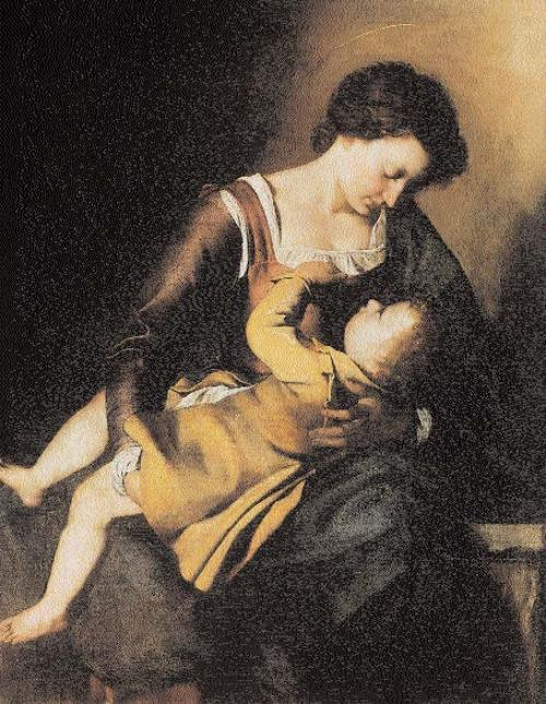 Caravaggio-Madonna