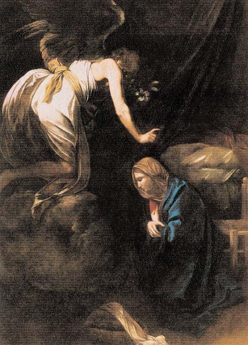 Caravaggio-the-annuciation