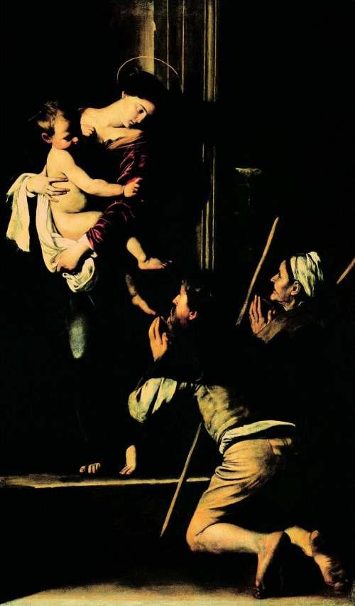 Caravaggio-Madonna-der-Pilger-oder-Madonna