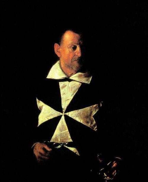 Caravaggio-orträt-von-Alof-de-Wignacourt