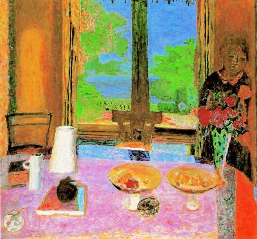 Pierre-Bonnard-La Salle-à-manger-à-la-campagne