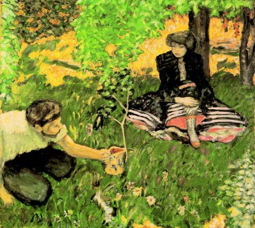 Pierre-Bonnard-Le-Jardinier-1908-Huile-sur-toile