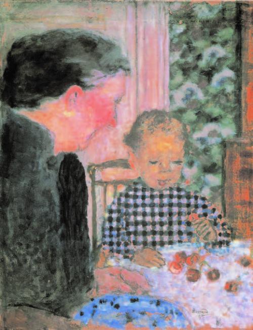 Pierre-Bonnard-Kirschen-essende-Kinde