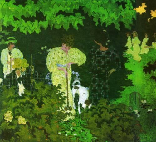 Pierre-Bonnard-paintings-The-Croquet-Game