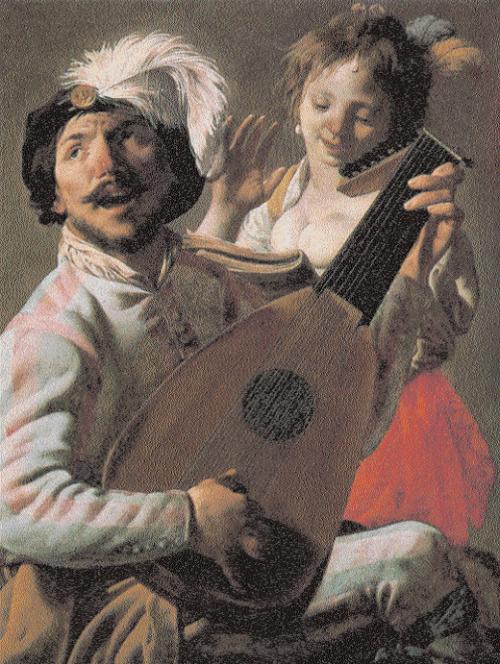 Erotic-art-Hendrick-Ter-Brugghen-The-Duet