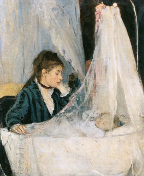 Berthe-Morisot-The-Cradle