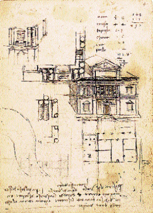 Leonardo-Da-Vinci-Studies-for-the-Villa-Caprini