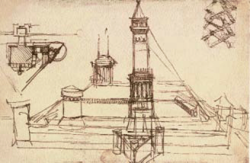 Leonardo-Da-Vinci-Studies-of-Architecture