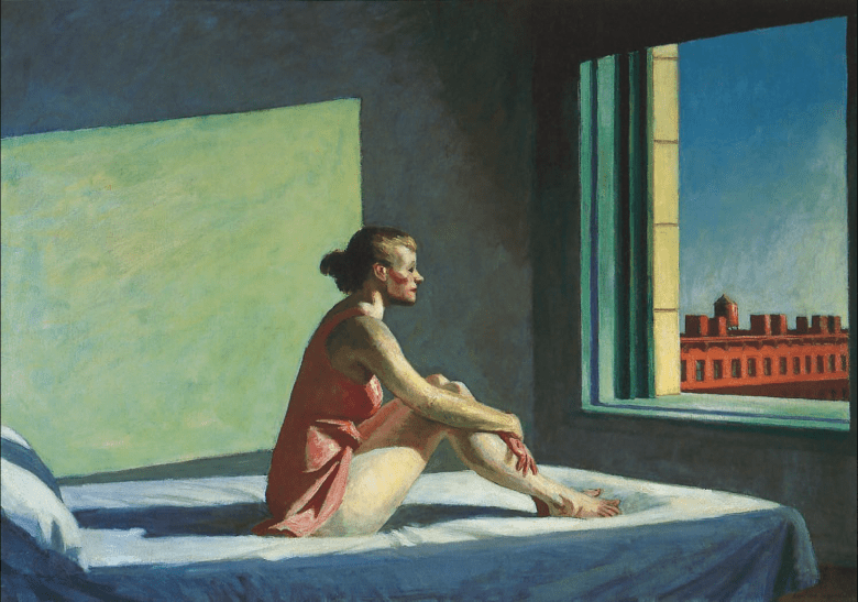 Edward Hopper-Morning Sun
