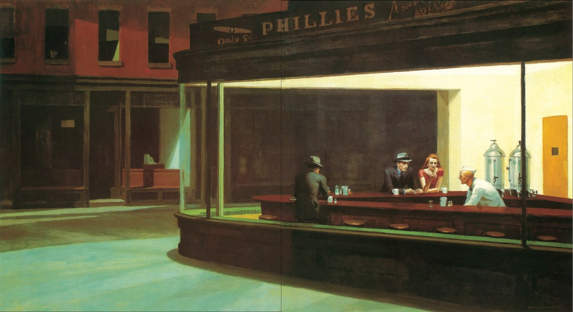 Edward-Hopper-Nighthawks