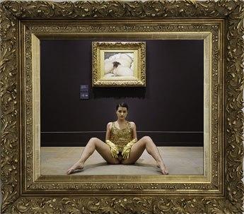 Mirror of Origin – Deborah De Robertis – 2014