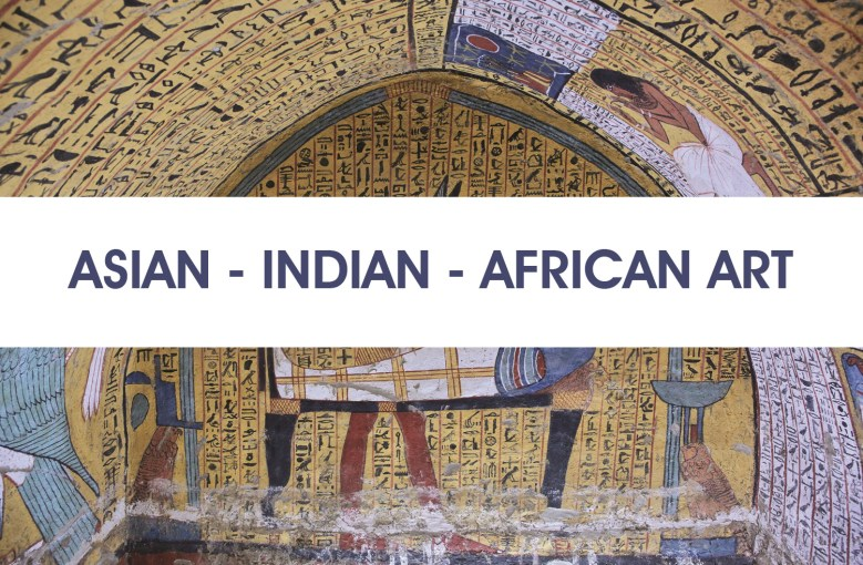 Asian - indian - african art