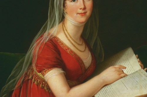 Portrait of Mrs Chinnery, 1803. Elisabeth Louise Vigée-Lebrun, W.H.Helm
