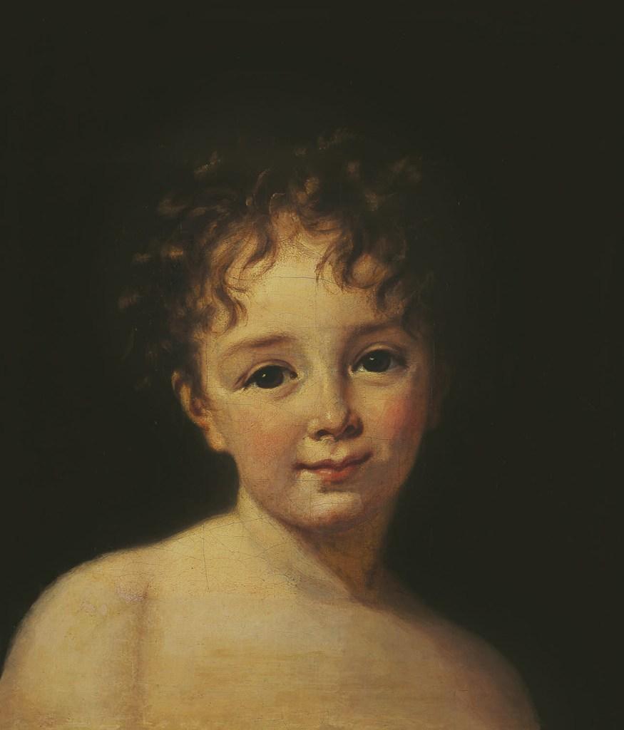 Julie Lebrun,1786, Elisabeth Louise Vigée-Lebrun, W.H.Helm