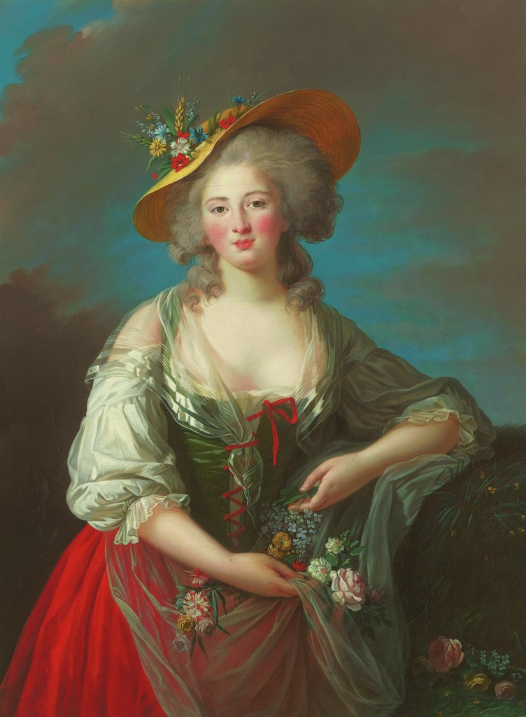 Princess Élisabeth of France, c. 1782, Elisabeth Louise Vigée-Lebrun, W.H.Helm