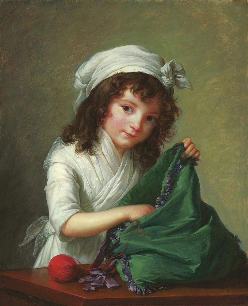 Mademoiselle Brongniart, 1788, Élisabeth Vigée-Lebrun, Hermann Clemens Kosel