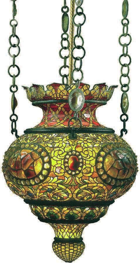 Lanterne à suspendre, Tiffany, Charles De Kay