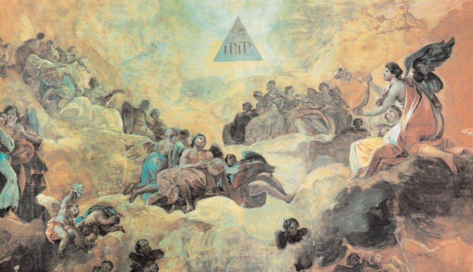 Die Engel preisen den Namen Gottes, Goya, Victoria Charles