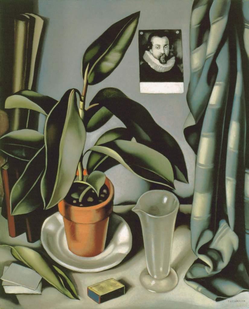 Sukkulente und Glasgefäß, um 1941., Lempicka, Patrick Bade