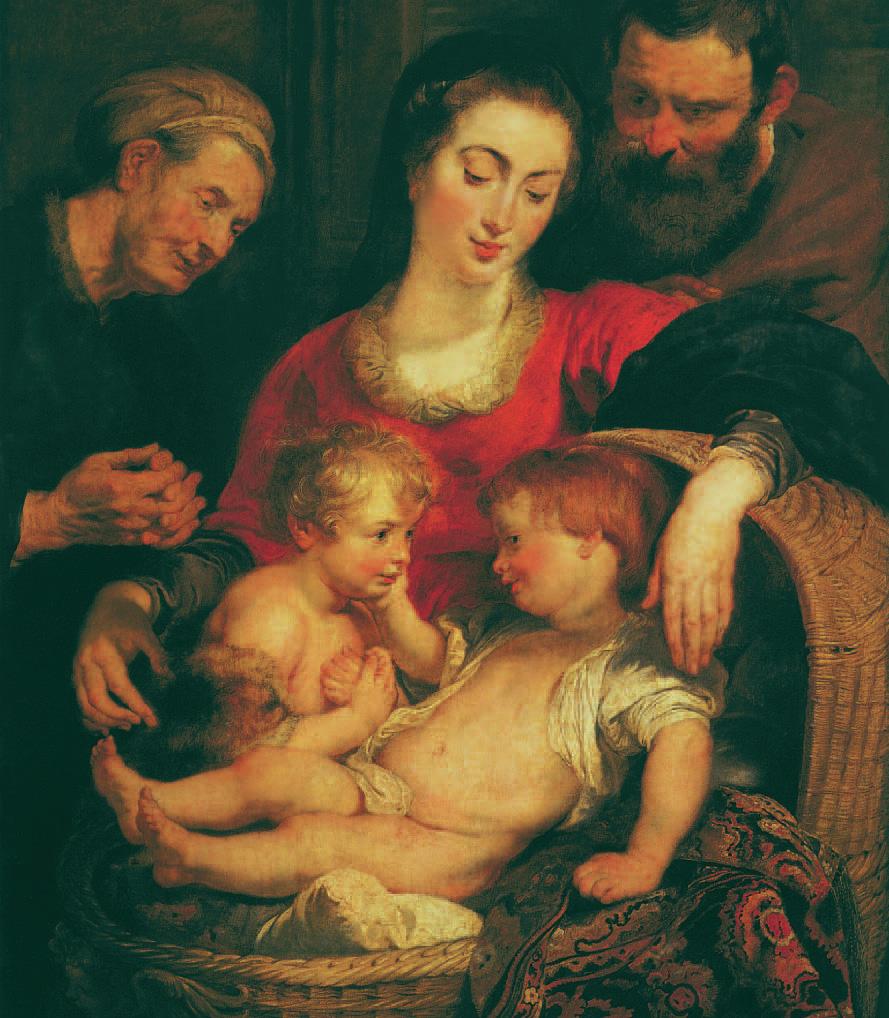 Die Madonna mit dem Korb, Peter Paul Rubens, um 1615, Klaus Carl