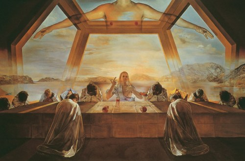 Salvador Dalí, The Sacrament of the Last Supper, 1955, Christ in art, Ernest Renan