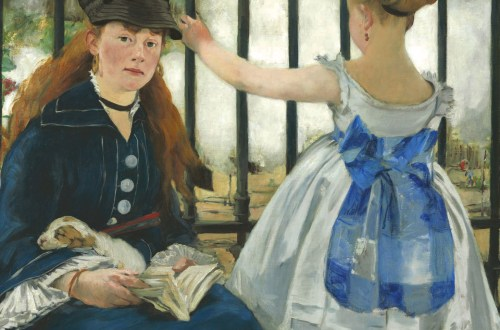 The Railway by Édouard Manet