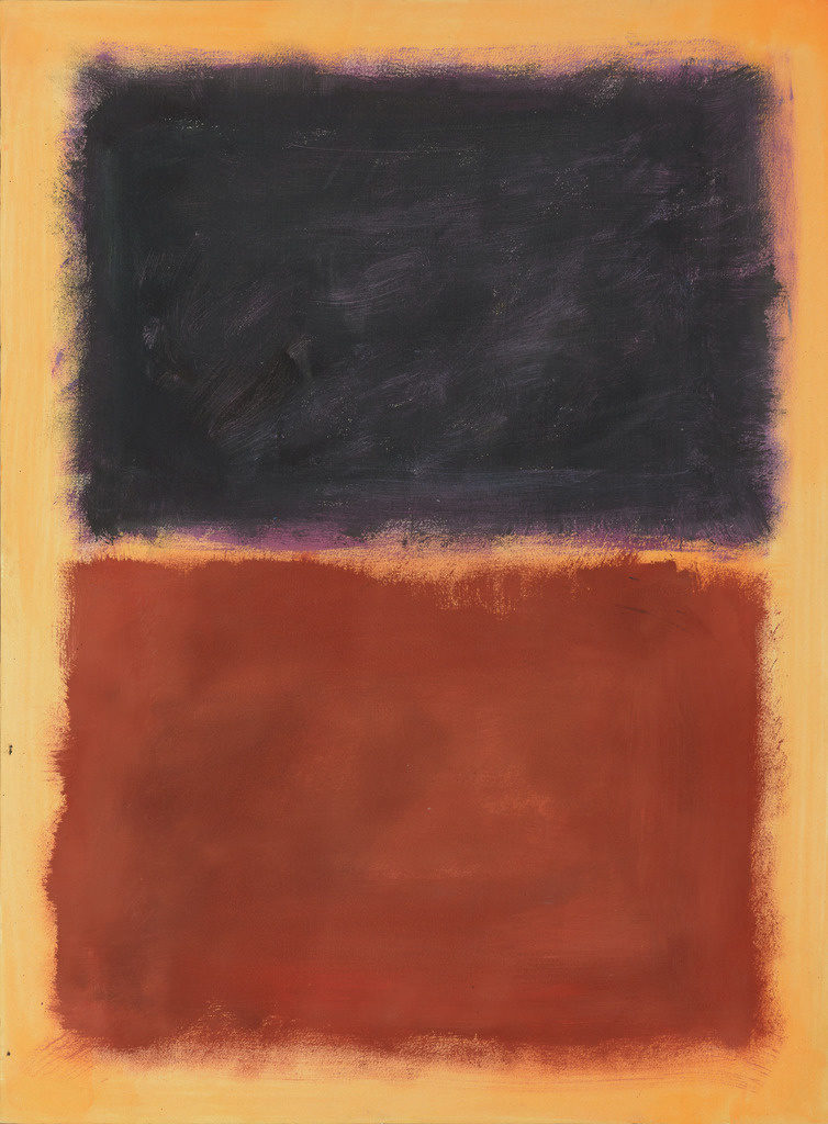 Pei-Shen Qian painting in the style of Mark Rothko, Forgeries – Hidden in Plain Sight