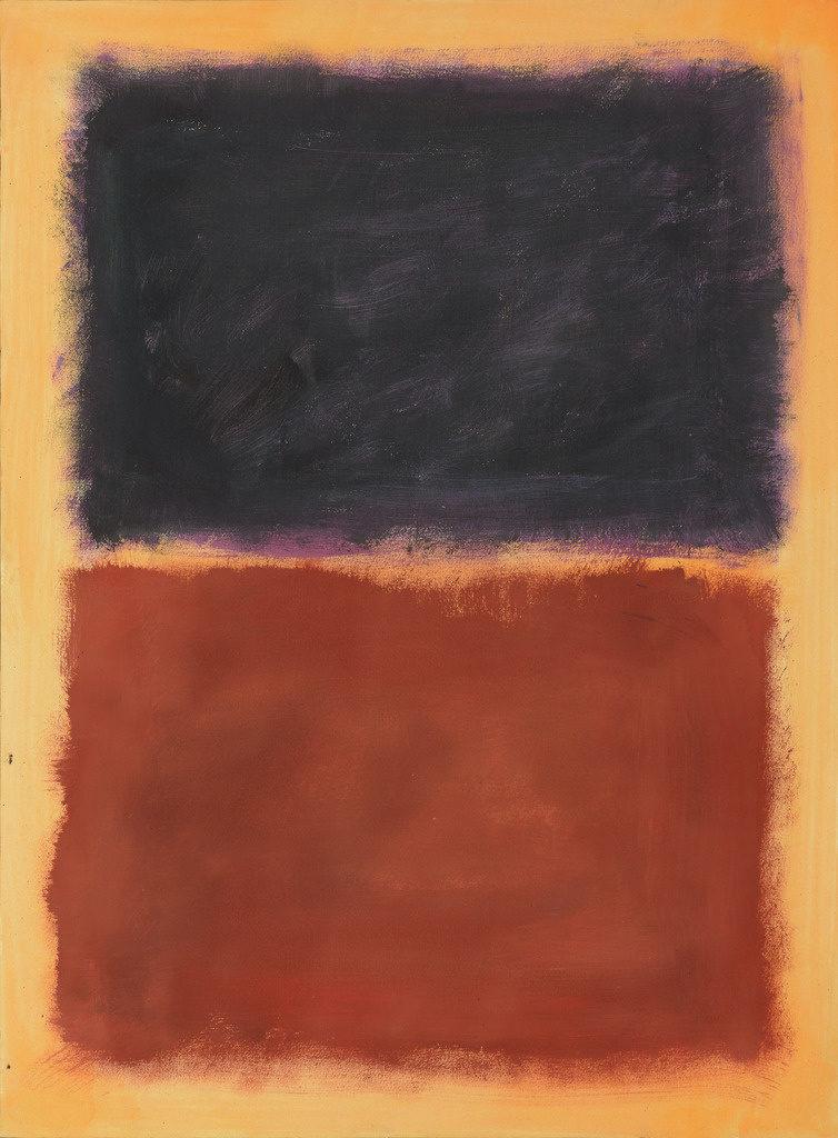 Peinture de Pei-Shen Qian dans le style de Mark Rothko, Les faux - Cachés à la vue de tous