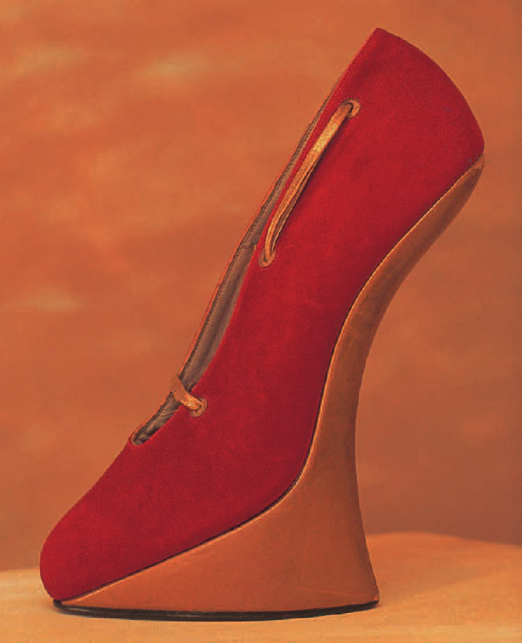 Chaussure sans talon, 1950, Chaussures, Marie-Josèphe Bossan