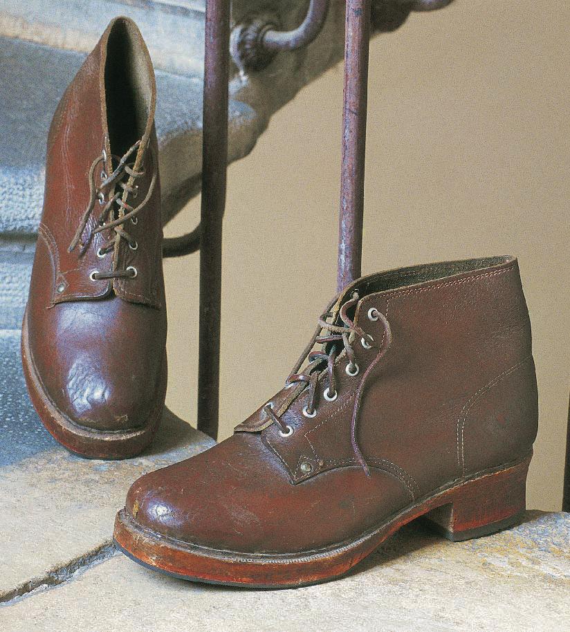 Shoes from the César workshop, Shoes, Marie-Josèphe Bossan