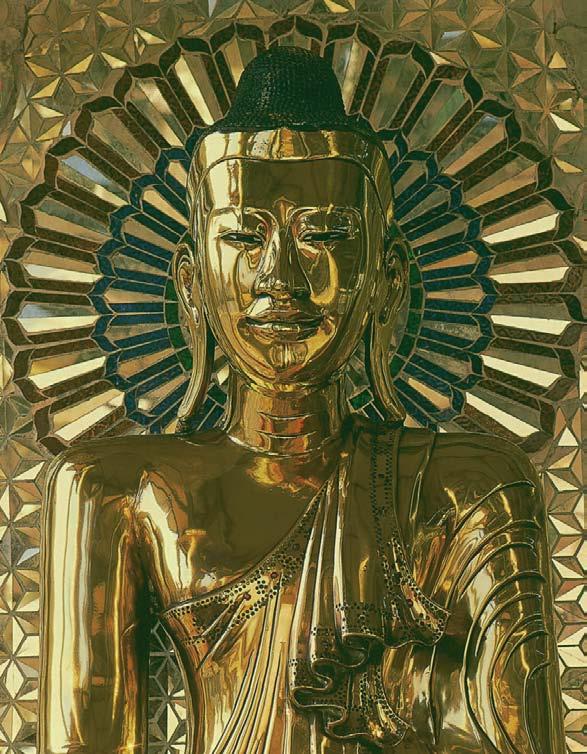 Head of Buddha, 1000 Buddhas of Genius, T.W. Rhys Davids Ph.D. LLD., Victoria Charles