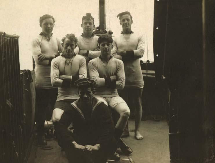 Marins, 1910, L'Histoire des Sous-Vêtements Masculins, Shaun Cole